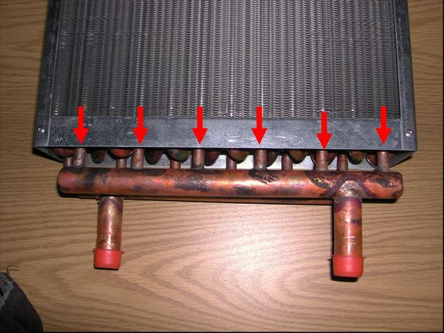 Hydronic Heater Coil